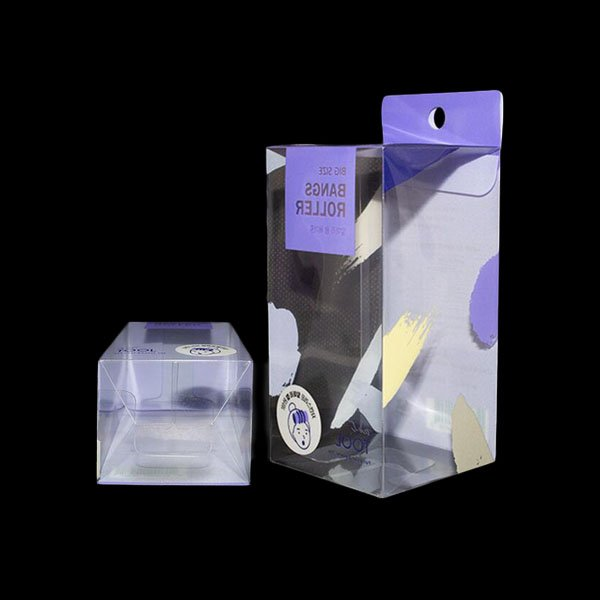 PET transparent folding box