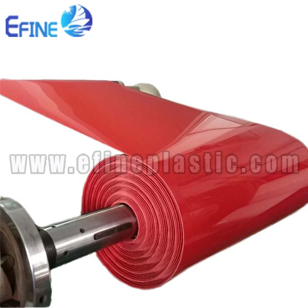 Red Polystyrene Plastic Sheets
