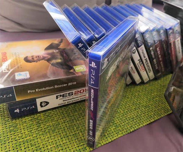 Blu-ray DVD Steelbook Plastic Box Protectors