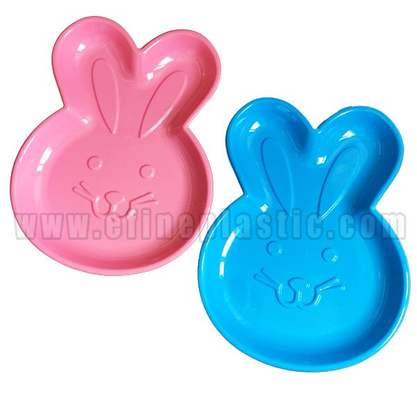 Easter Bunny Shaped Tray Party trays