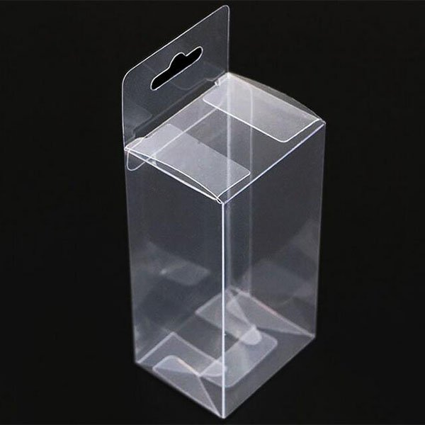 Clear Boxes With hanging hole