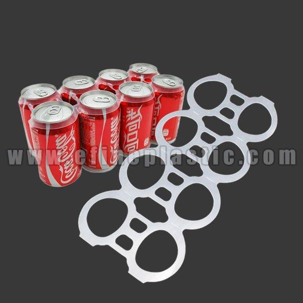 8 Pack Rings Plastic Beer Can Rings