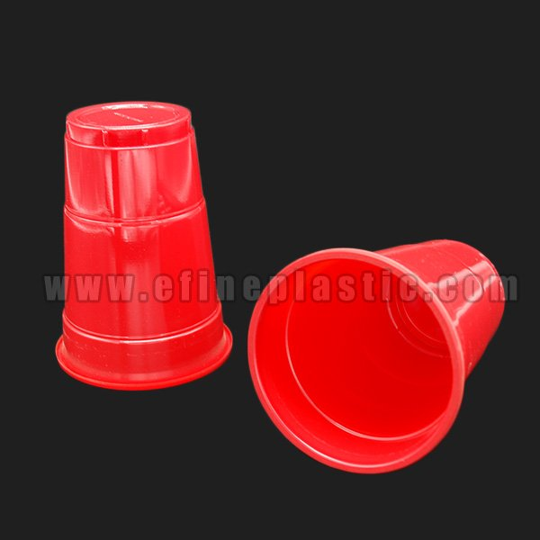 12 oz. Red Plastic Cup disposable plastic cups