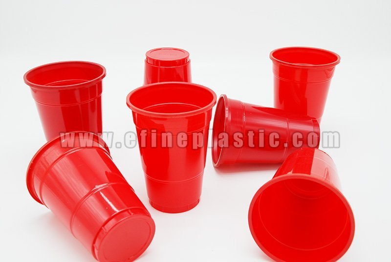 red party cups disposable plastic cups 12oz 16oz