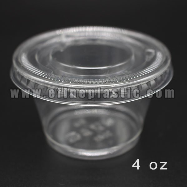 wholesale 4 oz condiment cups with lids