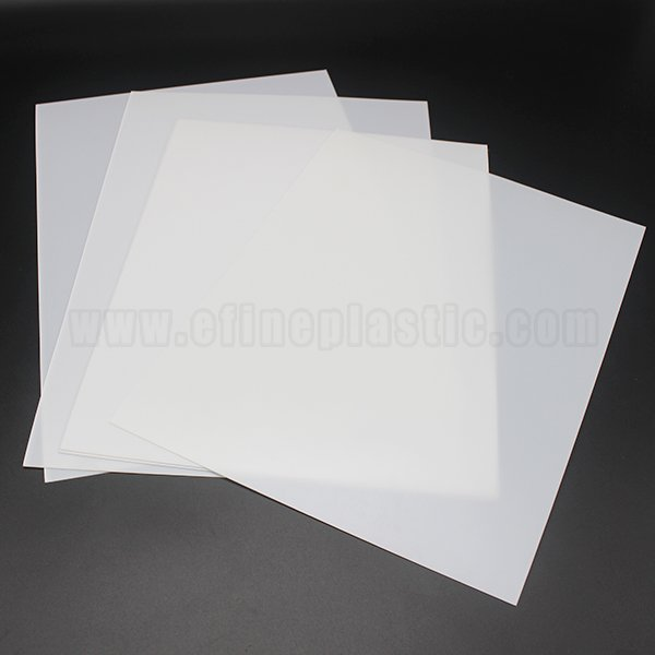 White High Impact Polystyrene HIPS Sheet