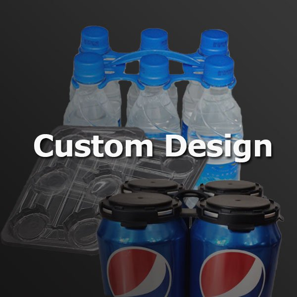 custom bottle and can carriers