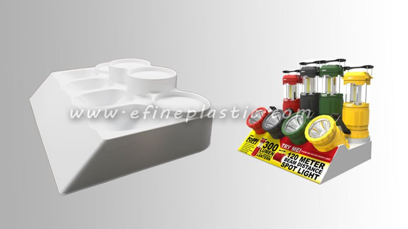 Counter Display Plastic Tray