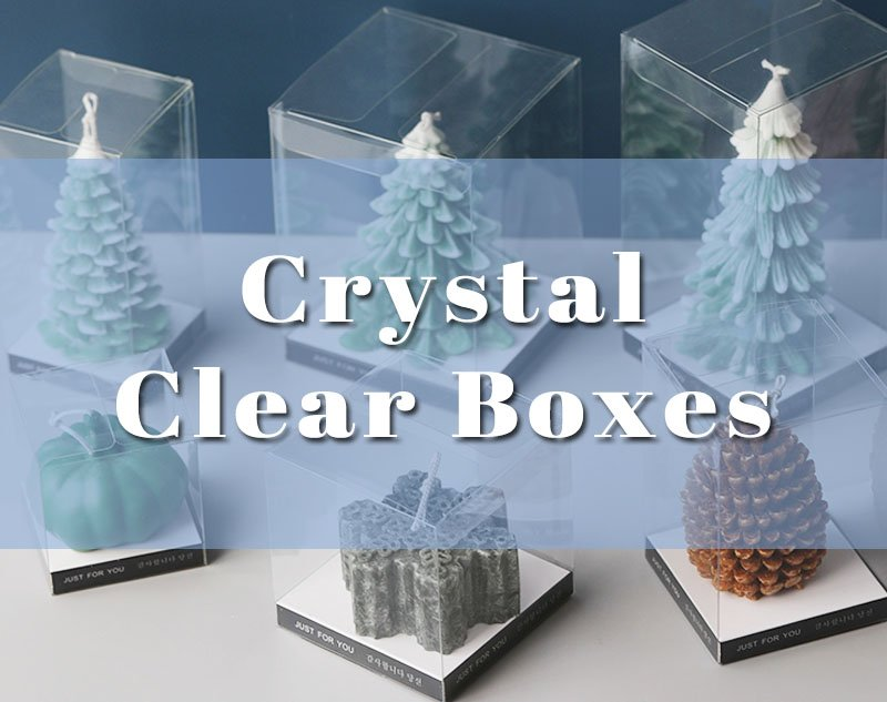 Crystal Clear Candle Boxes