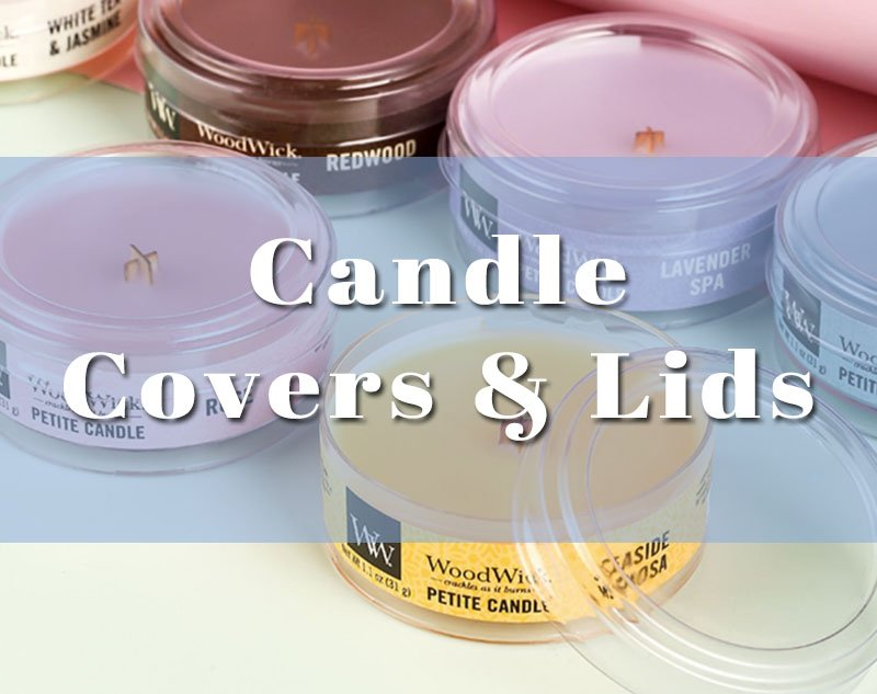 candle dust covers lids