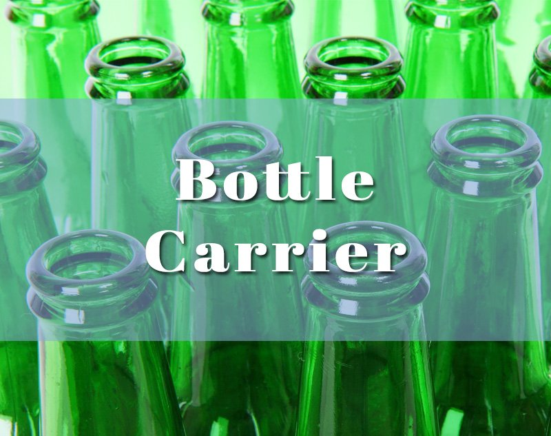 plastic bottle carriers and handles