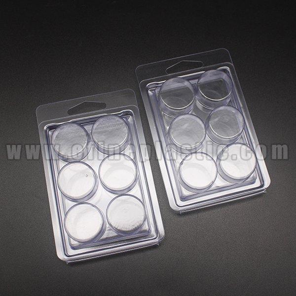Round Wax Melt Molds