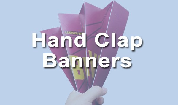 hand clap banners