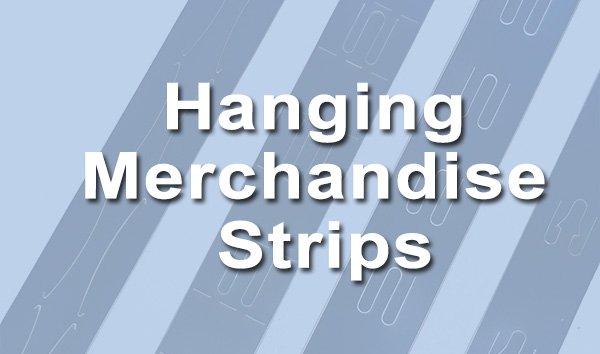 merchandising hanging strip
